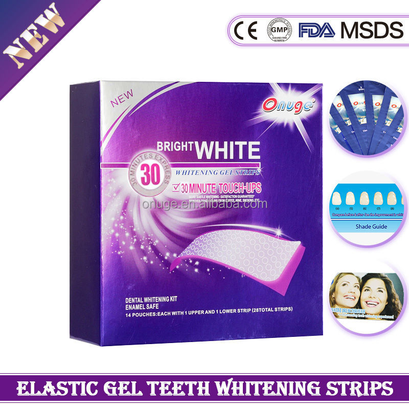 Teeth Bleaching Gel Strips-Exceed Crest Whitestrips
