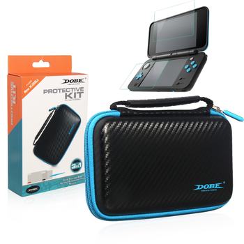 3 In 1 Protective Kit Eva Console Storage Carrying Bag For Nintendo 2ds Ll