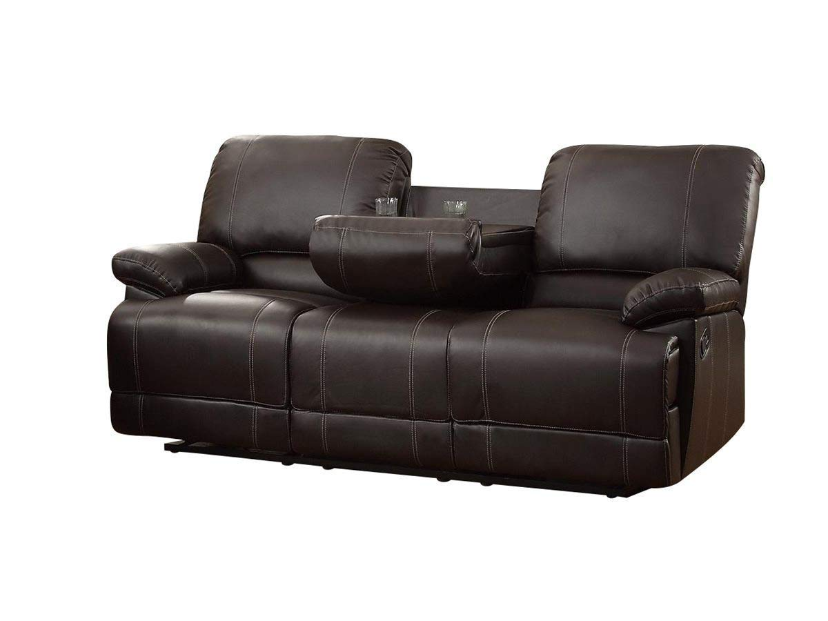 Astonishing Cheap Brown Leather Reclining Sofa Find Brown Leather Interior Design Ideas Pimpapslepicentreinfo