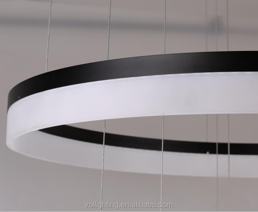 gro en ring design d120 150cm runden acryl anh nger licht led deckenleuchte bild deckenleuchte. Black Bedroom Furniture Sets. Home Design Ideas