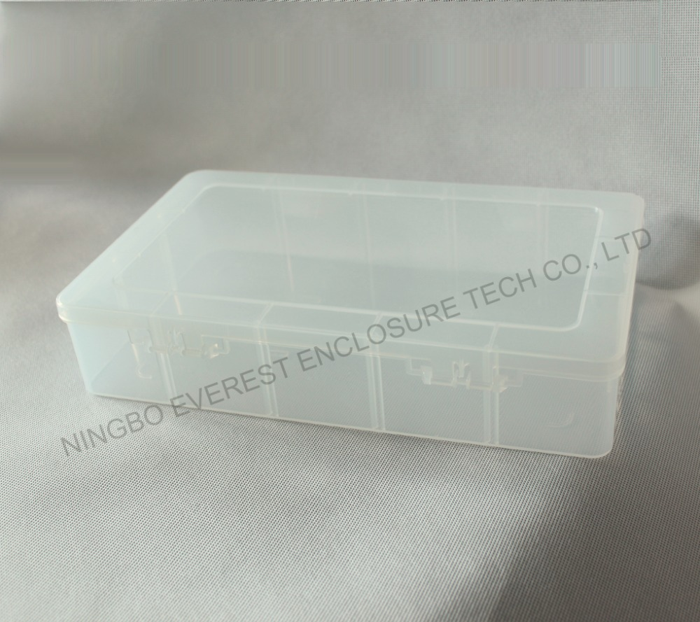 Foldable Fishing Tackle Clear Plastic Storage Box