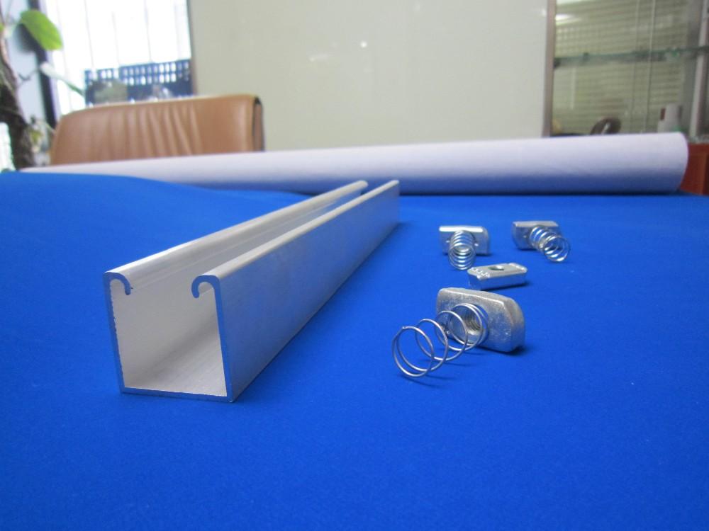 Galvanized Steel Unistrut Channel Accessories View