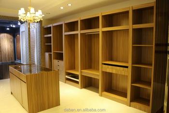Moderne Chambre Garde Robe Simple Design Walkin Placard Buy