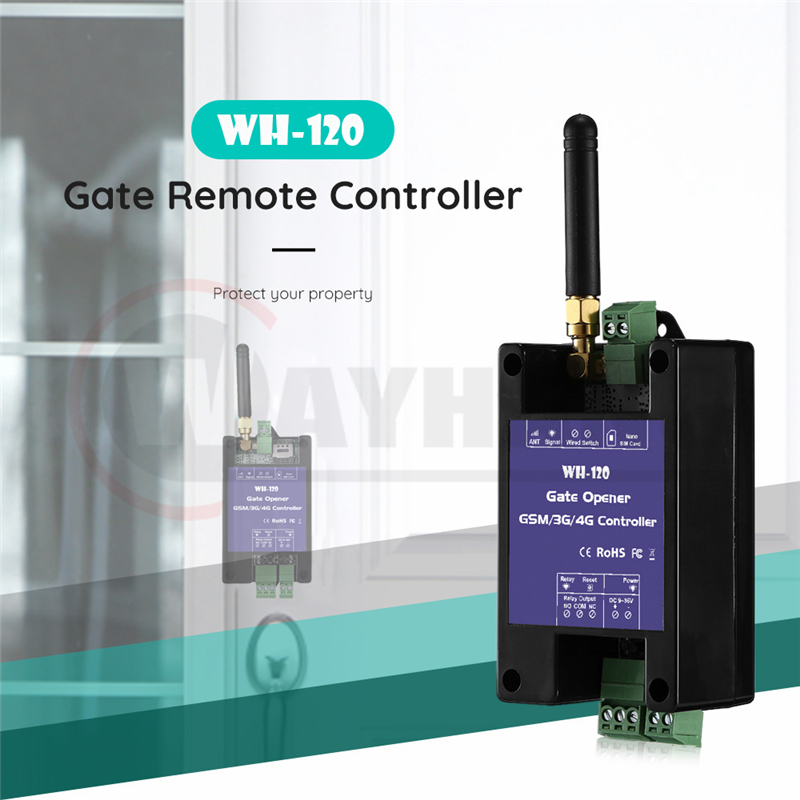 2019 Newest GSM Garage Door Opener Remote Controller WH-120 Gate Opener GSM