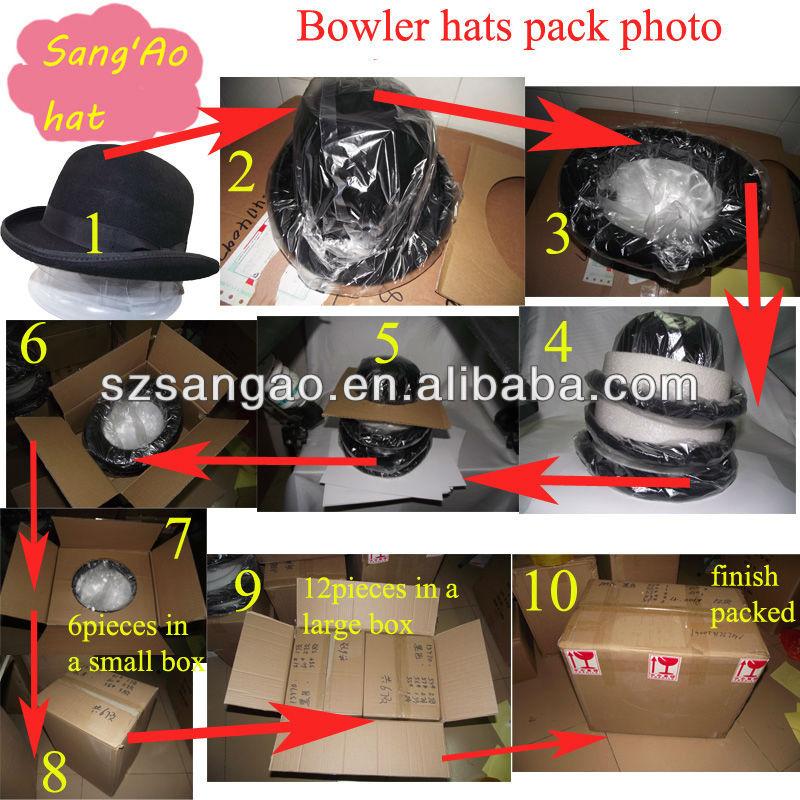 9264ab3e66890 Making blue bowler hats caps for sale uniform airline wool felt winter for  man