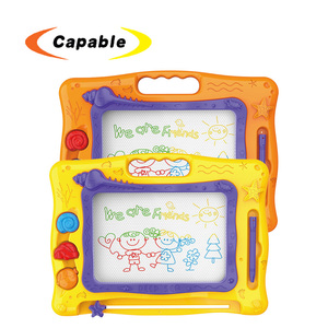 Magic doodle drawing toy magnetic writing board