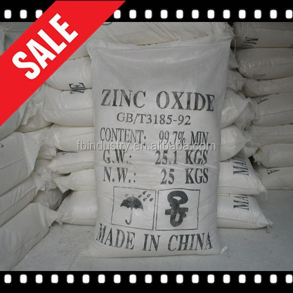 Hot sale zinc oxide 99 7 Factory offer directly