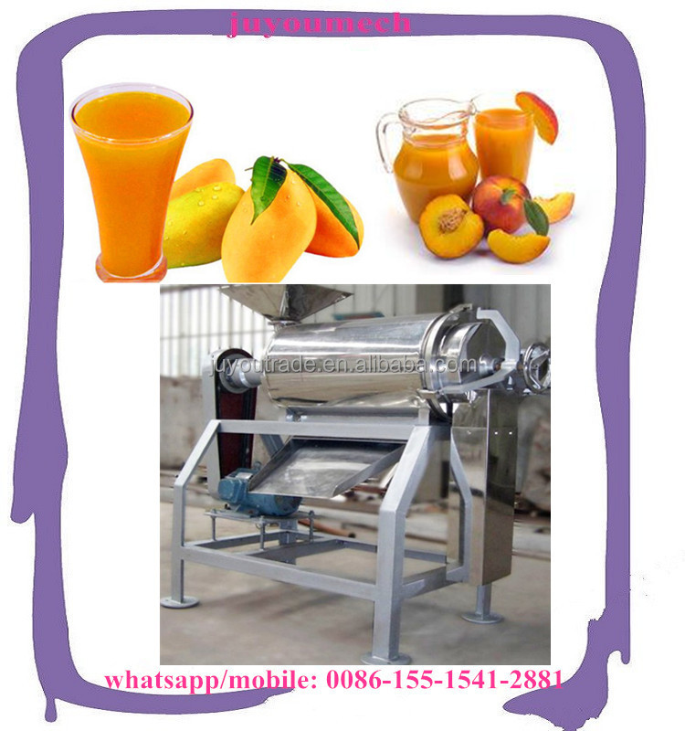 Multi function fruits pitting pulping machine for mango peach cherry apricots