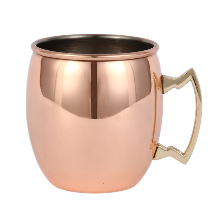 Copper Plated Stainless Steel Hammered Copper Mug Moscow Mule Coffee Beer Mug <strong>Cups</strong>