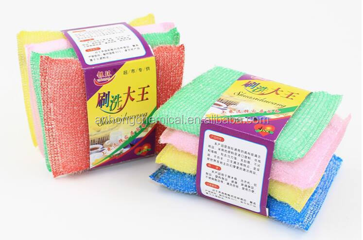 Good Quality and low price, Kitchen cleaning Sponge Scourer, souring pads