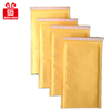 white kraft padded envelope, print customized kraft bubble mailers for gift package