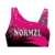 good elasticity lycra custom sublimated cheer sports bra