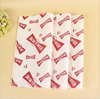 Custom food grade waxed wrapping paper for hamburger /sandwich/chicken roll packaging