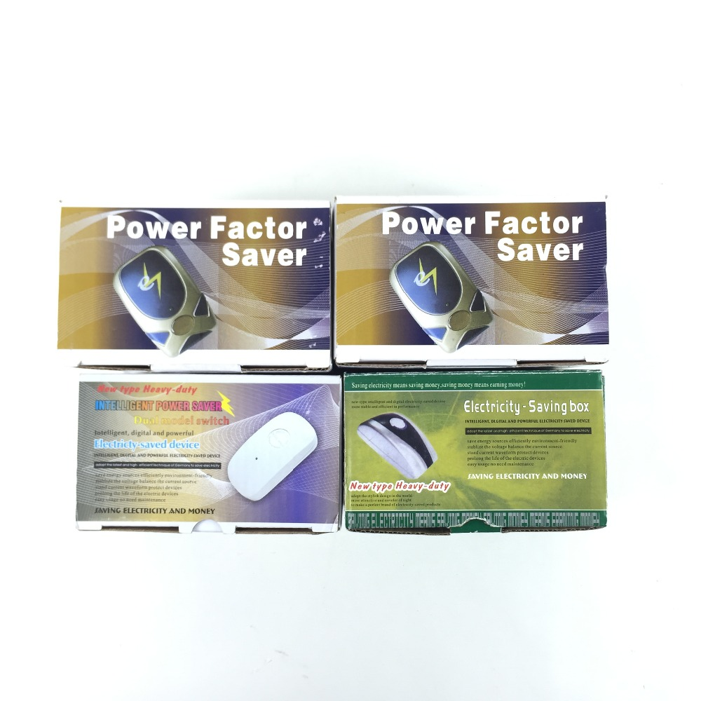 Elektrische Power Factor Saver Met US/BS/EU/AU Pluggen Elektriciteit Saver Box
