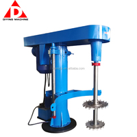 High Speed Water Paint Coating Painting Disperser Mixer Agitator