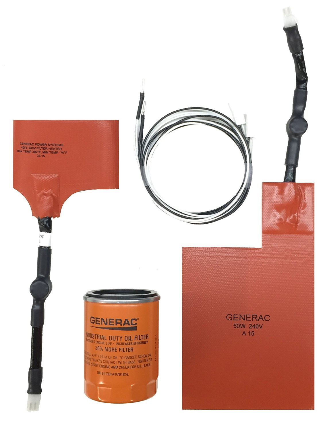 Generac 6212 Air-Cooled Standby Generator Cold Weather Kit