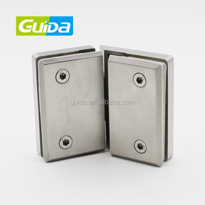 Ningbo Guida high quality durable brass 135 degree shower glass to glass door hinge