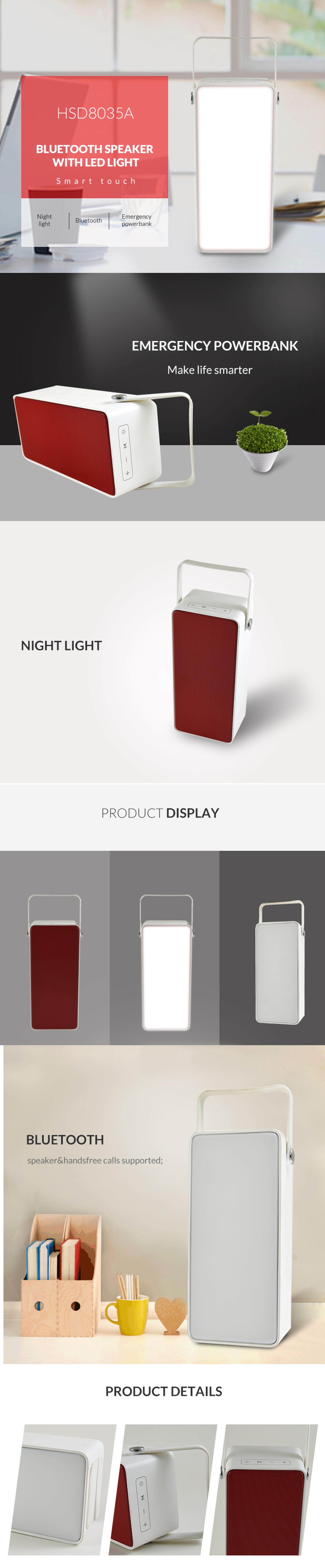 High-endless portable wireless lantern speaker, powerbank wholesale