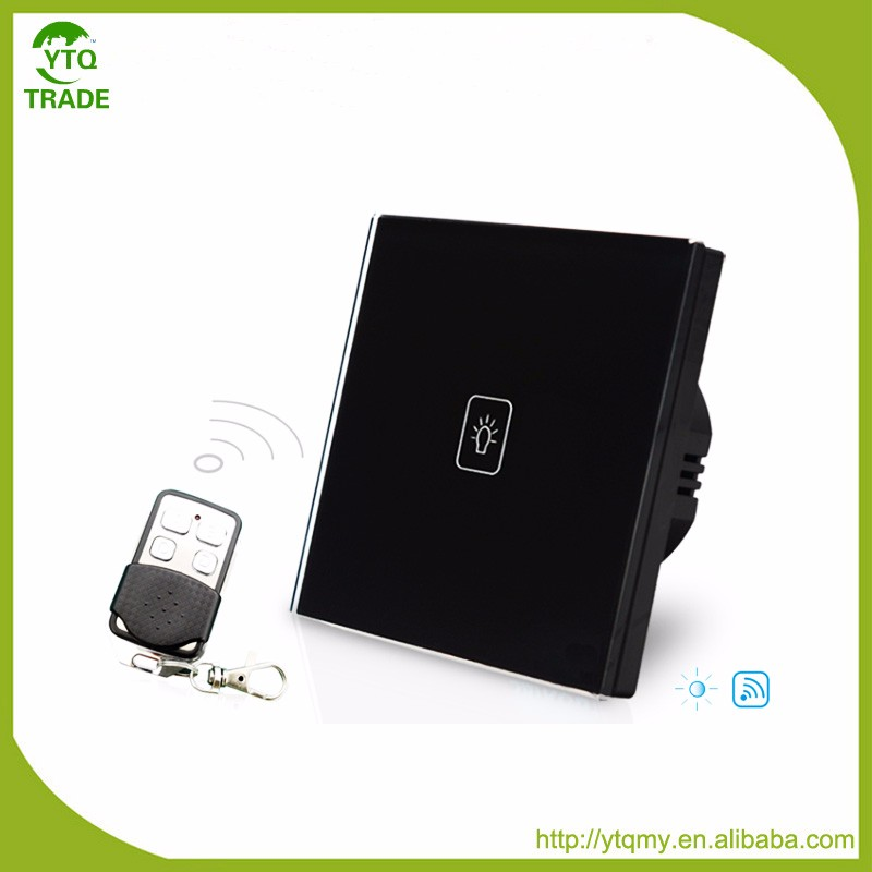 Good Quality of EU Type Smart Touch Switches for Home Automation Touch Panel Dimmer Switch With RF Function SK-A