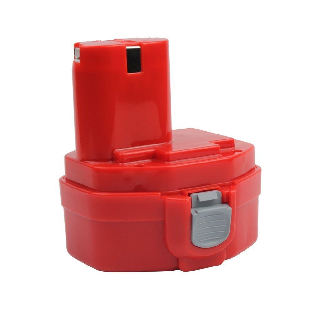 2.0Ah 1420 Replacement Battery for Makita 1422 1400 PA14 192600-1 194172-2 193062-6 193987-4 638350-9-2 193985-8 Cordless Power Tools (14.4V, Ni-CD)