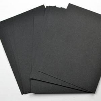 Sticker Paper Glossy Paper Sheets Black Coated Board Made in China