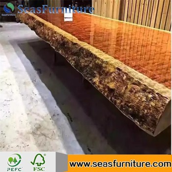 Best Selling Wood Slab Table Tabletop/Worktop/Benchtop