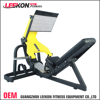 Leg Press For Sale >> Heavy Duty Plate Loaded Hammer Strength Equipment 45 Degree Leg Press Machine For Sale View Leg Press Machine Leekon Product Details From Guangzhou