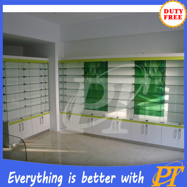 retail medical store furniture, pharmacy display stand, medical store furniture
