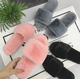 China ladies new shoes sandal woman fur design fashion winter slippers