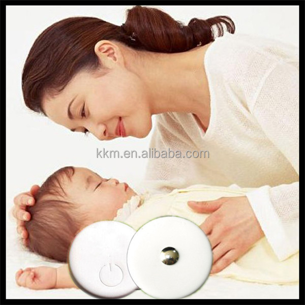 Newly bluetooth children wearable thermometer sticker, fever monitoring thermometer