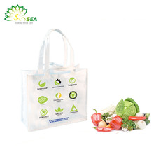 plastic food container Easy carry Folding style Foldable shopping bag