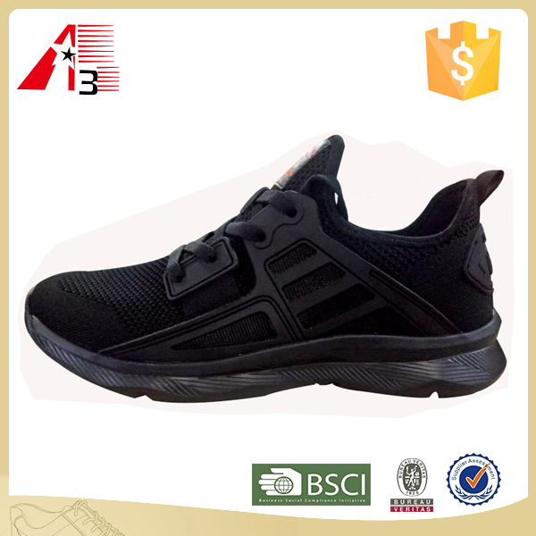 2017 new knitting shoes upper running shoes man
