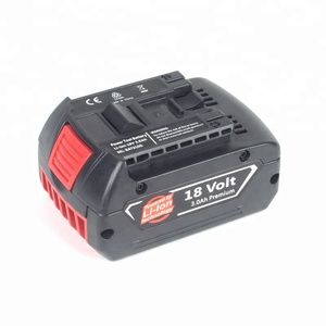replacement for bosch 18v cordless drill battery pack power tool rechargeable battery