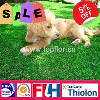 Good UV stability artificial dog grass mat for garden
