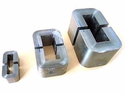 Metglas amorphous and Hitachi Finemet nanocrystalline c core