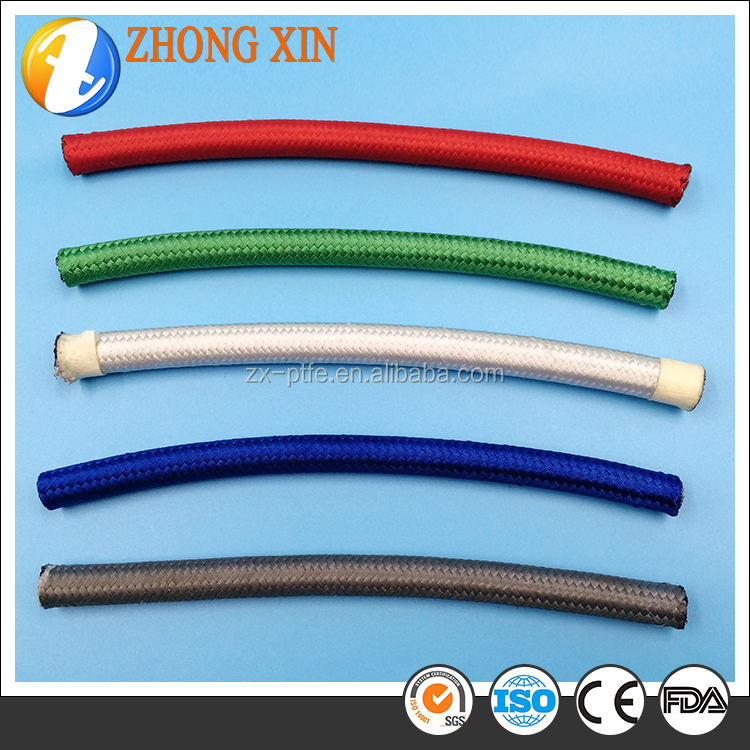 Ptfe Teflon Lined Flexible Cotton Coated Stainless Steel Wire ...