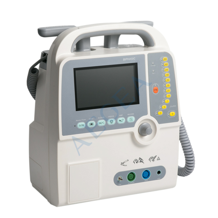 Ambulance patient used aed monitor biphasic automated external defibrillator price