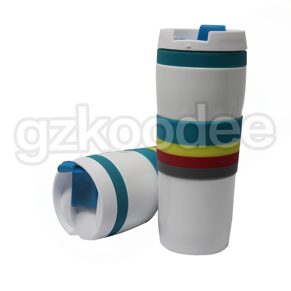 Double Wall Thermos Bottle Stainless Steel Vacuum Flasks 450ml Thermal Coffee Tea Milk Travel Mug