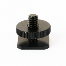 "Draadloze Flash Trigger Stand Microfoon Geanodiseerd schroeven camera Flash Hot Shoe Mount <span class=keywords><strong>Statief</strong></span> Adapter 1/4 ""Schroef"