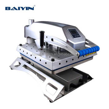 Professional Swing Heat Press Machine With Draw 38x38 40x50