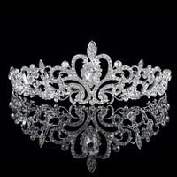 Adult Crown And Tiara,Princess Rhinestone Crown For Prom,Bridal Tiara Wedding Crown