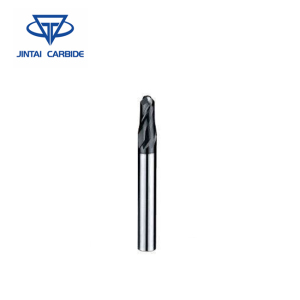 Solid Carbide Bevel Edge Ball Nose End Mill Cutter