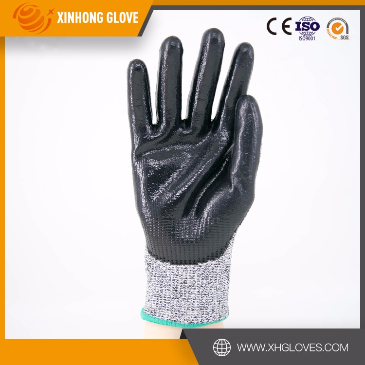 Nitrile Chemical Resistant Working 4343 Safety Hand Gloves