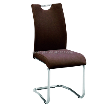 Cheap modern furniture leather chair z shaped sponge for Z shaped dining chair