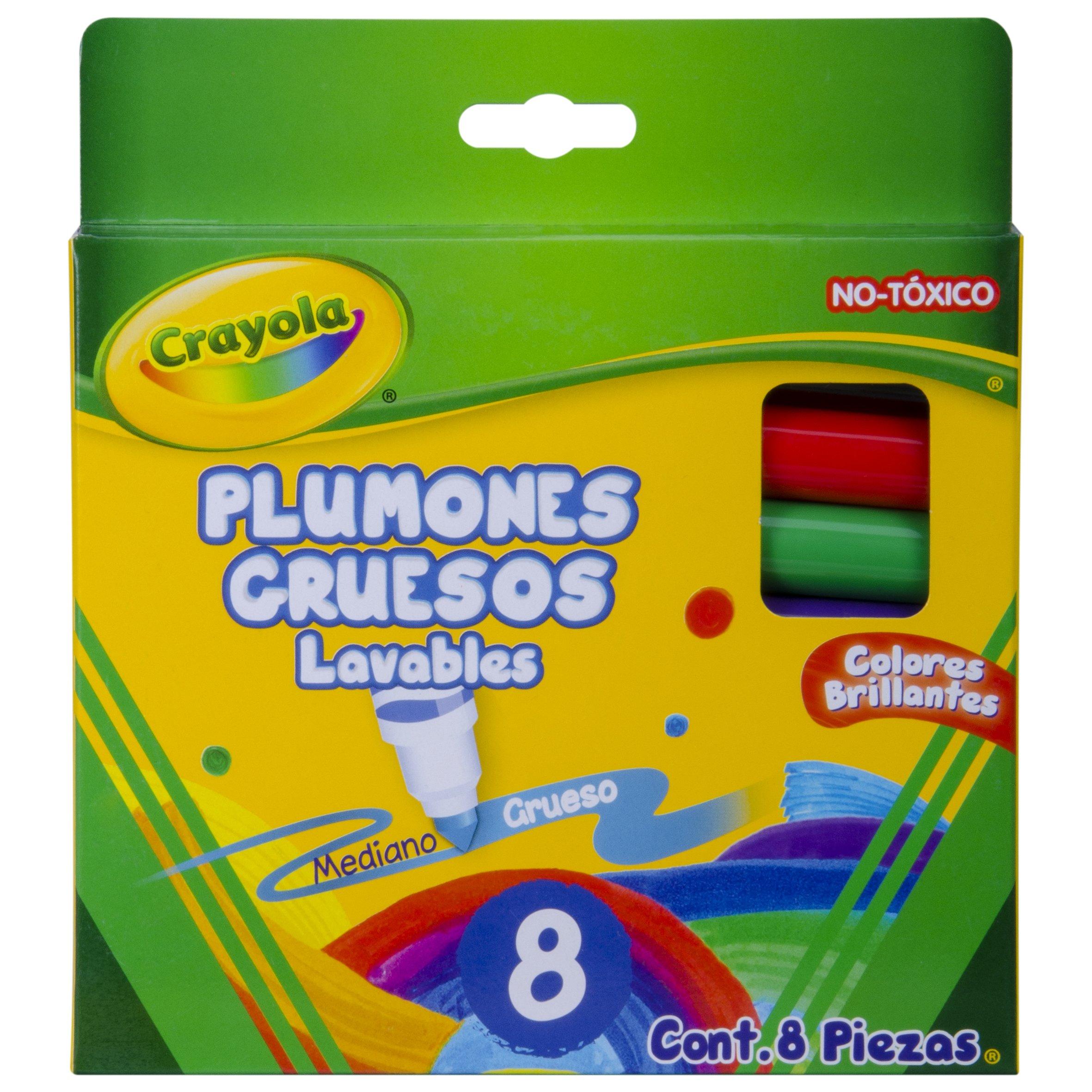 Assorted Ink Crayola Crayola Window Fx Art Marker 8 // Pack 588165