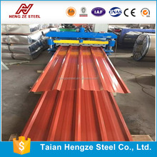 Aluminum Zinc Cheap Long Span Galvanized Corrugated Steel Alloy Metal Roofing sheets