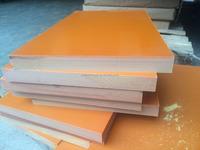 High quality laminate insulation phenolic bakelite sheets Orange Black color