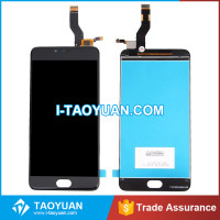 Original factory price lcd touch screen with digitizer assembly for meizu m3 note
