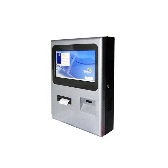 Wall Mounted Vending Touch Screen Machine Display Ordering Parking Ticket kiosk