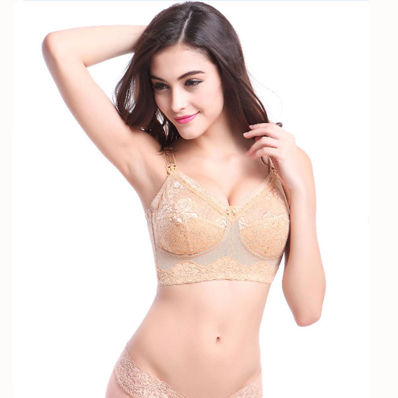 7a9d3a646e8 32-44 Cup B C D E F G Maternity Lace Bra Wire Free Lingerie Breast Feeding  Underwear For Nursing Pregnant Women 1 in Cheap Price on Alibaba.com
